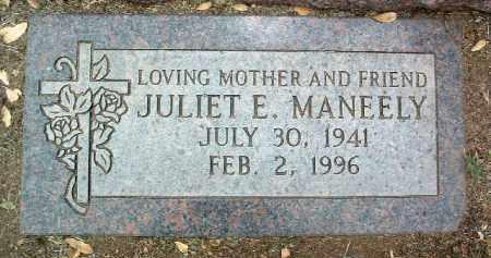 BELTRAN MANEELY, JULIET EMMA - Yavapai County, Arizona | JULIET EMMA BELTRAN MANEELY - Arizona Gravestone Photos