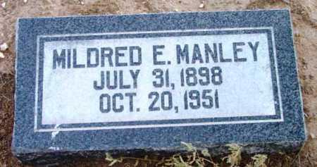 MANLEY, MILDRED ESTHER - Yavapai County, Arizona | MILDRED ESTHER MANLEY - Arizona Gravestone Photos