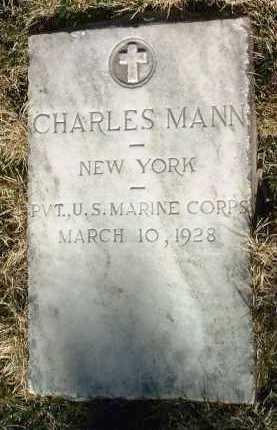 MANN, CHARLES - Yavapai County, Arizona | CHARLES MANN - Arizona Gravestone Photos