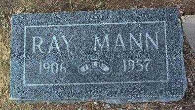 MANN, RAY - Yavapai County, Arizona   RAY MANN - Arizona Gravestone Photos