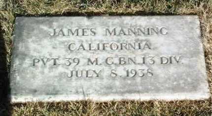 MANNING, JAMES - Yavapai County, Arizona | JAMES MANNING - Arizona Gravestone Photos