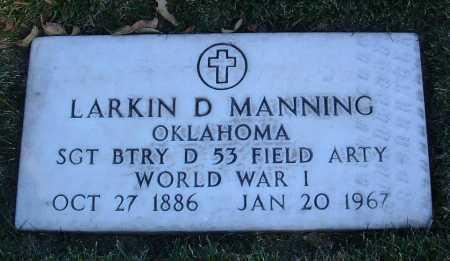 MANNING, LARKIN DONIST - Yavapai County, Arizona | LARKIN DONIST MANNING - Arizona Gravestone Photos