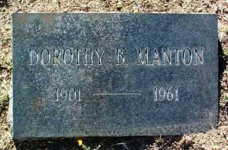 ANDREWS MANTON, D. B. - Yavapai County, Arizona | D. B. ANDREWS MANTON - Arizona Gravestone Photos