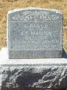 GREENE MARDEN, K. BELLE - Yavapai County, Arizona | K. BELLE GREENE MARDEN - Arizona Gravestone Photos