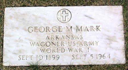 MARK, GEORGE  M. - Yavapai County, Arizona | GEORGE  M. MARK - Arizona Gravestone Photos
