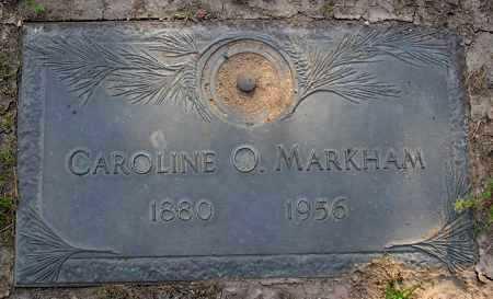 MARKHAM, CAROLINE OPHELIA - Yavapai County, Arizona | CAROLINE OPHELIA MARKHAM - Arizona Gravestone Photos