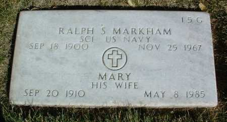 MARKHAM, MARY - Yavapai County, Arizona | MARY MARKHAM - Arizona Gravestone Photos