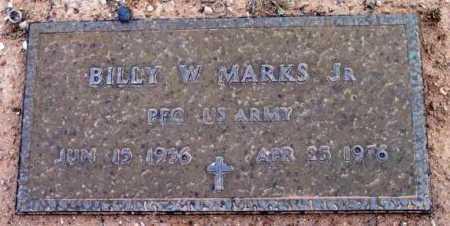 MARKS, BILLY W., JR. - Yavapai County, Arizona   BILLY W., JR. MARKS - Arizona Gravestone Photos