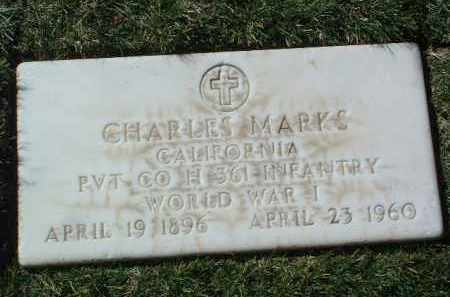 MARKS, CHARLES - Yavapai County, Arizona   CHARLES MARKS - Arizona Gravestone Photos