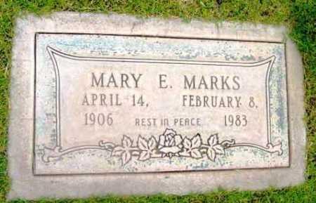 MARKS, MARY E. - Yavapai County, Arizona | MARY E. MARKS - Arizona Gravestone Photos