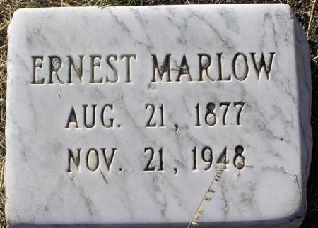MARLOW, ERNEST NEWTON - Yavapai County, Arizona   ERNEST NEWTON MARLOW - Arizona Gravestone Photos