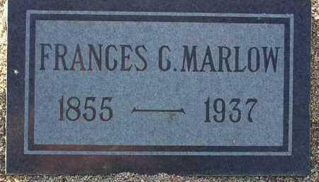 MARLOW, FRANCES C. - Yavapai County, Arizona | FRANCES C. MARLOW - Arizona Gravestone Photos