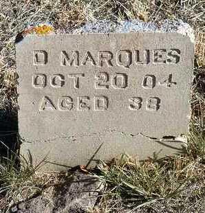 MARQUES, DANIEL - Yavapai County, Arizona | DANIEL MARQUES - Arizona Gravestone Photos