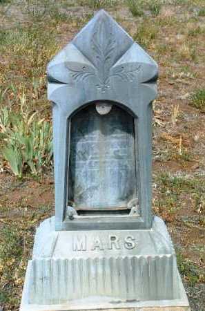 MARS, JOHN - Yavapai County, Arizona   JOHN MARS - Arizona Gravestone Photos