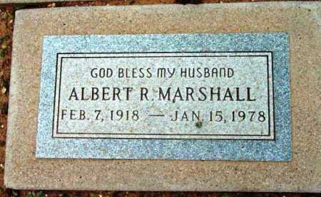 MARSHALL, ALBERT R. - Yavapai County, Arizona | ALBERT R. MARSHALL - Arizona Gravestone Photos
