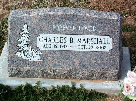 MARSHALL, CHARLES B. - Yavapai County, Arizona | CHARLES B. MARSHALL - Arizona Gravestone Photos