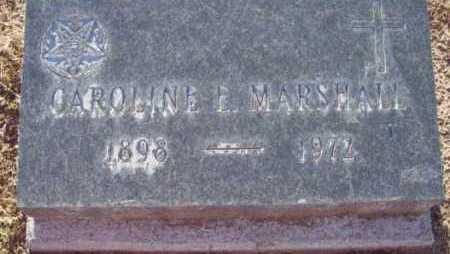 MARSHALL, CAROLINE E. - Yavapai County, Arizona | CAROLINE E. MARSHALL - Arizona Gravestone Photos
