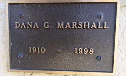 MARSHALL, DANA GEORGE - Yavapai County, Arizona | DANA GEORGE MARSHALL - Arizona Gravestone Photos