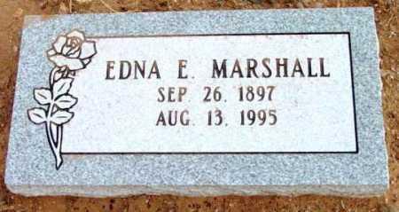 MARSHALL, EDNA E. - Yavapai County, Arizona | EDNA E. MARSHALL - Arizona Gravestone Photos
