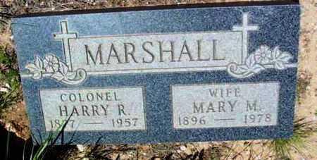 MARSHALL, HARRY R. - Yavapai County, Arizona | HARRY R. MARSHALL - Arizona Gravestone Photos