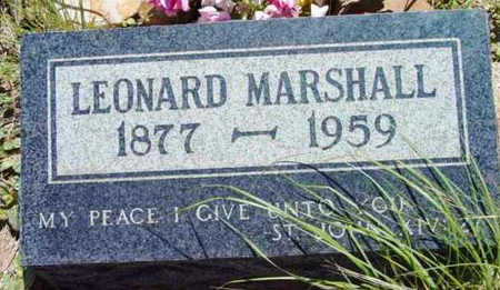 MARSHALL, JOHN LEONARD - Yavapai County, Arizona | JOHN LEONARD MARSHALL - Arizona Gravestone Photos