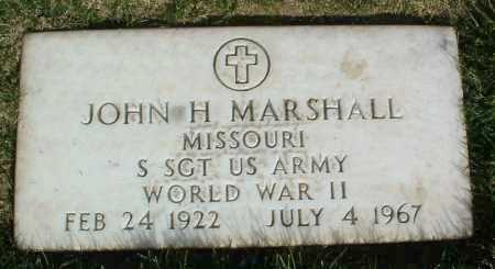 MARSHALL, JOHN H. - Yavapai County, Arizona | JOHN H. MARSHALL - Arizona Gravestone Photos