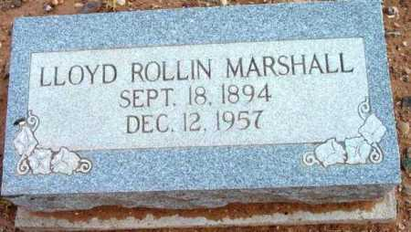 MARSHALL, LLOYD ROLLIN - Yavapai County, Arizona | LLOYD ROLLIN MARSHALL - Arizona Gravestone Photos