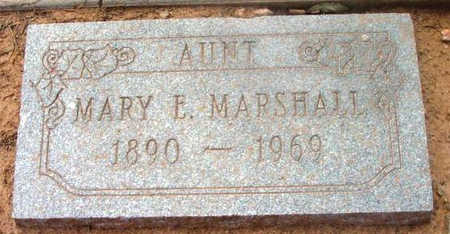 MARSHALL, MARY E. - Yavapai County, Arizona | MARY E. MARSHALL - Arizona Gravestone Photos