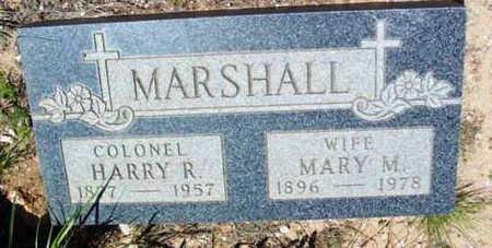 MARSHALL, MARY M. - Yavapai County, Arizona | MARY M. MARSHALL - Arizona Gravestone Photos