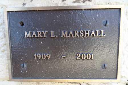 MARSHALL, MARY ADELINE - Yavapai County, Arizona   MARY ADELINE MARSHALL - Arizona Gravestone Photos