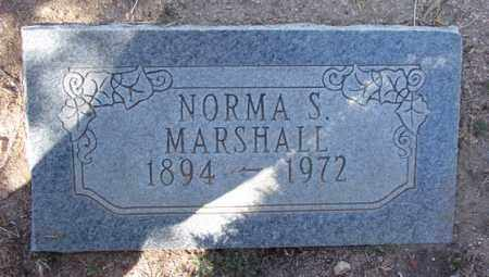 MARSHALL, NORMA S. - Yavapai County, Arizona   NORMA S. MARSHALL - Arizona Gravestone Photos