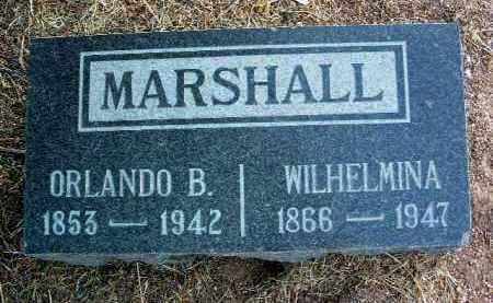 MARSHALL, ORLANDO B. - Yavapai County, Arizona | ORLANDO B. MARSHALL - Arizona Gravestone Photos