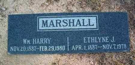MARSHALL, WILLIAM HARRY - Yavapai County, Arizona | WILLIAM HARRY MARSHALL - Arizona Gravestone Photos