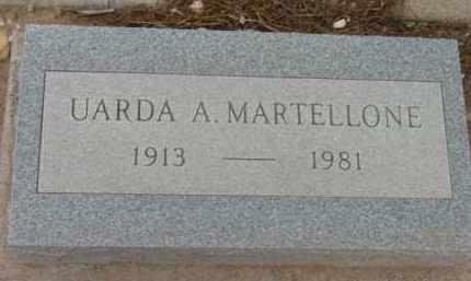 MARTELLONE, UARDA ALBERTA - Yavapai County, Arizona | UARDA ALBERTA MARTELLONE - Arizona Gravestone Photos