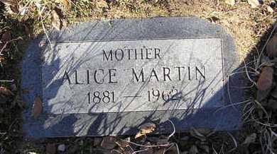 MARTIN, ALICE J. - Yavapai County, Arizona | ALICE J. MARTIN - Arizona Gravestone Photos