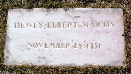 MARTIN, DEWEY ELBERT - Yavapai County, Arizona | DEWEY ELBERT MARTIN - Arizona Gravestone Photos