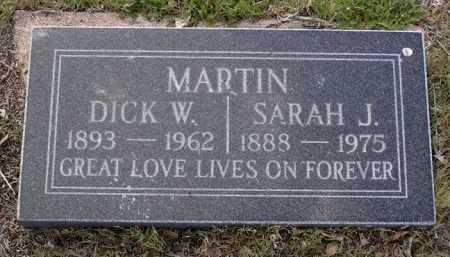 MARTIN, SARAH J. - Yavapai County, Arizona   SARAH J. MARTIN - Arizona Gravestone Photos