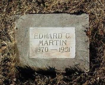 MARTIN, EDWARD CHALMER - Yavapai County, Arizona | EDWARD CHALMER MARTIN - Arizona Gravestone Photos