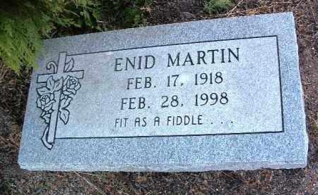MARTIN, ENID - Yavapai County, Arizona   ENID MARTIN - Arizona Gravestone Photos