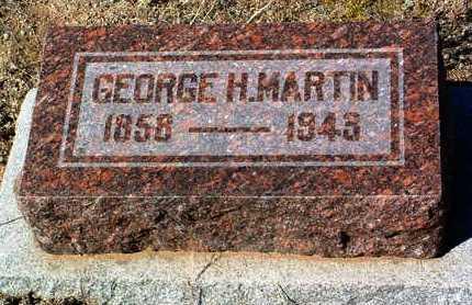 MARTIN, GEORGE H. - Yavapai County, Arizona | GEORGE H. MARTIN - Arizona Gravestone Photos