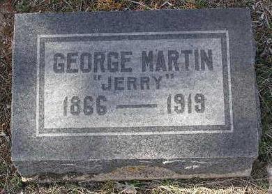 MARTIN, GEORGE (JERRY) - Yavapai County, Arizona | GEORGE (JERRY) MARTIN - Arizona Gravestone Photos
