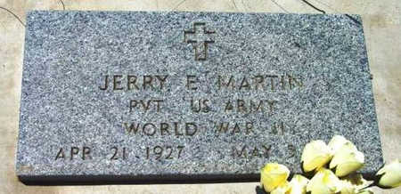 MARTIN, JERRY ELMER - Yavapai County, Arizona | JERRY ELMER MARTIN - Arizona Gravestone Photos