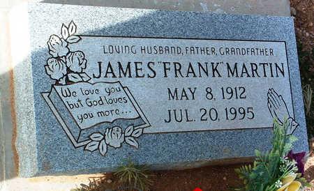 MARTIN, JAMES (FRANK) - Yavapai County, Arizona | JAMES (FRANK) MARTIN - Arizona Gravestone Photos