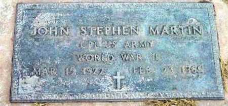 MARTIN, JOHN STEPHEN - Yavapai County, Arizona | JOHN STEPHEN MARTIN - Arizona Gravestone Photos