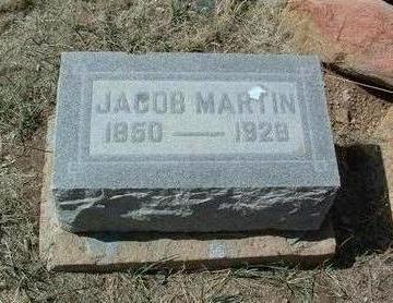 MARTIN, JACOB - Yavapai County, Arizona | JACOB MARTIN - Arizona Gravestone Photos