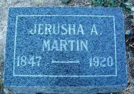 MARTIN, JERUSHA ANN - Yavapai County, Arizona | JERUSHA ANN MARTIN - Arizona Gravestone Photos
