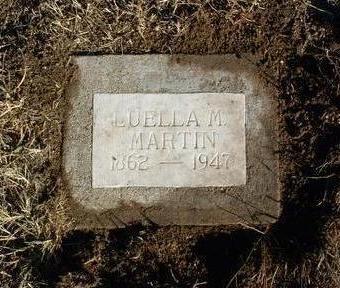 MARTIN, LUELLA MARY - Yavapai County, Arizona | LUELLA MARY MARTIN - Arizona Gravestone Photos