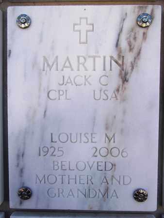 MARTIN, LOUISE M. - Yavapai County, Arizona | LOUISE M. MARTIN - Arizona Gravestone Photos