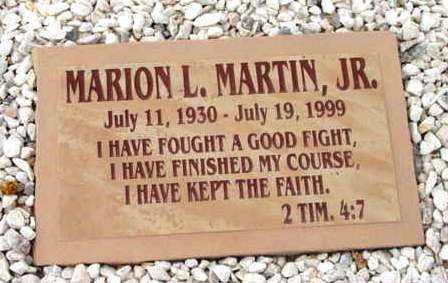 MARTIN, MARION L., JR. - Yavapai County, Arizona | MARION L., JR. MARTIN - Arizona Gravestone Photos