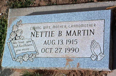 MARTIN, NELLIE BLANCHE - Yavapai County, Arizona | NELLIE BLANCHE MARTIN - Arizona Gravestone Photos